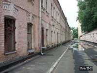карбышев-стрит, вид от караулки