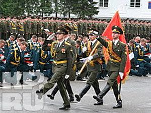 В Кемеровском высшем военном командном училище связи состоялся юбилейный выпускной