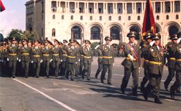Военному институту Армении 15 лет