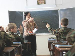 В школах под Тулой, занятия по военподготовке, вели учителя без спецобразования