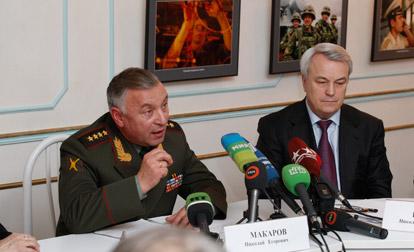 Генерал Макаров посулил нынешним курсантам «сетецентрические войны»