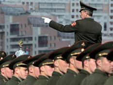 Парадный расчет Екатеринбургского гарнизона начинает тренировки