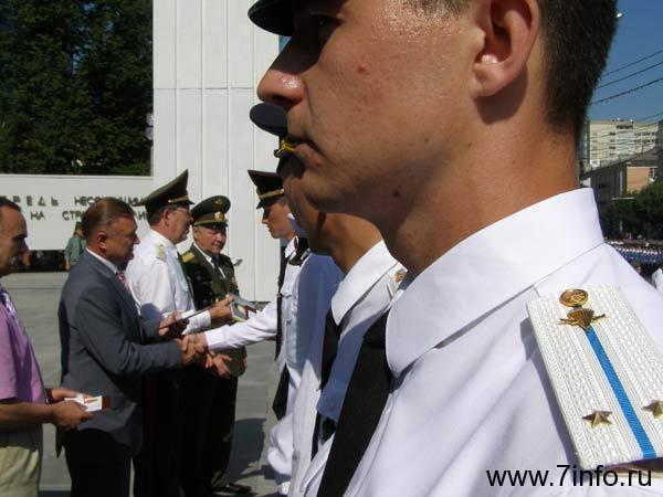 В Рязани более 500 курсантов военного вуза стали лейтенантами