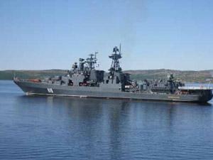 «Североморск» зашел в главную военно-морскую базу ВМС Норвегии