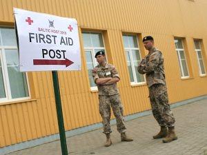 Латвия начала военные учения