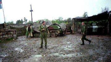 В Абхазии проходят военные учения российских войск