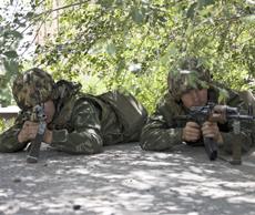 В Чите прошли контртеррористические учения