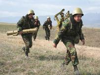 Сепаратисты Нагорного Карабаха провели военные учения