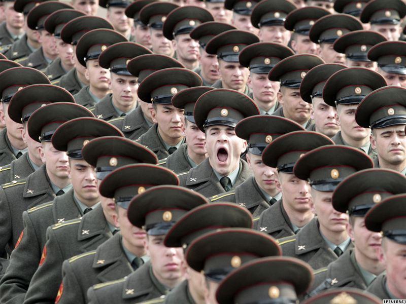 Тяжело на учениях, если армия вшивая