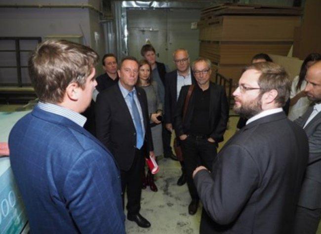 Австрийская делегация посетила столичную ОЭЗ