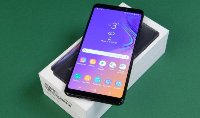 Основные характеристики смартфона Samsung Galaxy A9