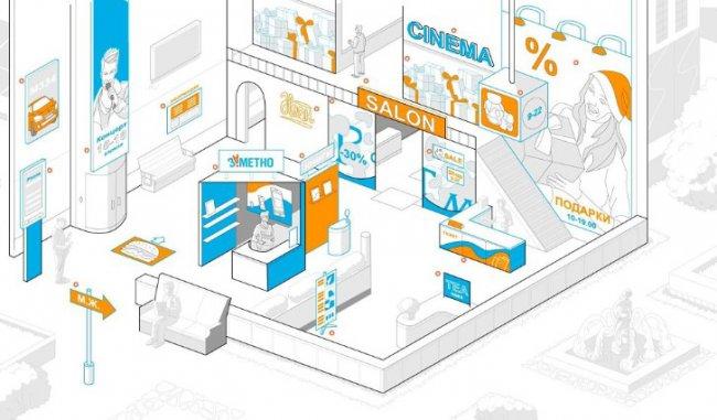 Производство рекламных вывесок в Москве