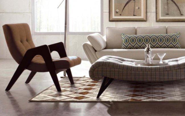 Ковры из хит-сета – практичный вариант для уютного интерьера