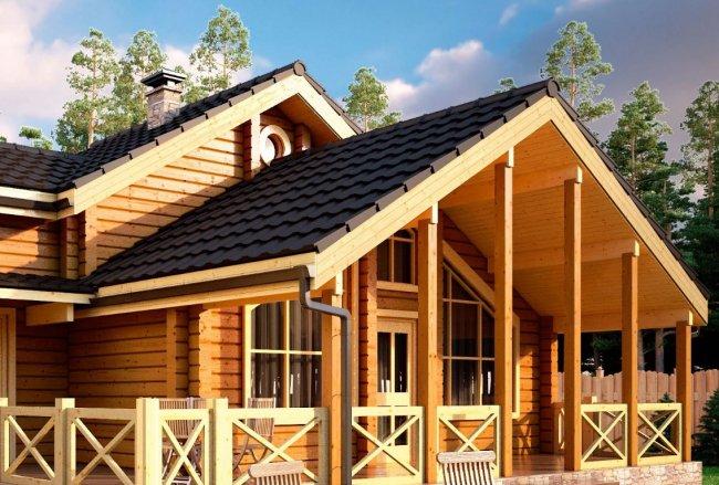 Каркасный дом в скандинавском стиле: особенности и преимущества конструкции
